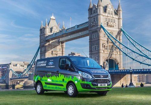 Ford Anuncia Un Nuevo Proyecto En Londres Para Probar El Nuevo Furgón Tránsit Hibrido Custom Plug-In