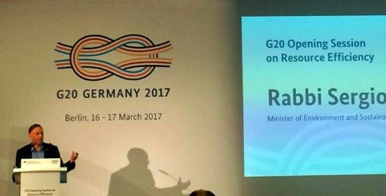 """Bergman En El G20 De Alemania: """"Nada Será Rentable Si No Es Sustentable"""""""