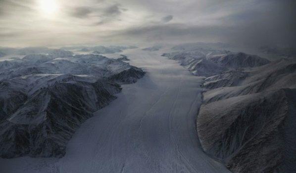Desvío Del Curso De Río En Canadá Se Debe Al Cambio Climático