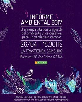El Informe Ambiental De FARN Celebró Su Novena Edición