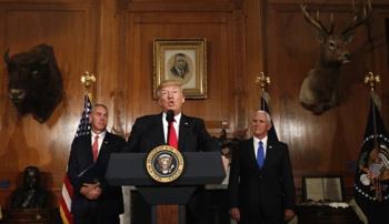 Trump Firma Una Orden Que Abre Terrenos Federales A La Extracción De Energías Fósiles