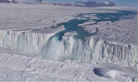 Como Se Deshace La Antártida: Un Mapa De Los Ríos
