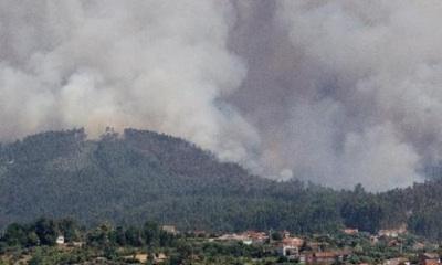 Terrible Incendio Forestal En Portugal