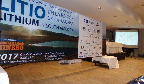 """Más De 550 Personas En El """"VI Seminario Internacional: Litio En La Región De Sudamérica"""""""