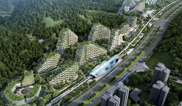 China Construye Una Ciudad Bosque Para Combatir La Contaminación