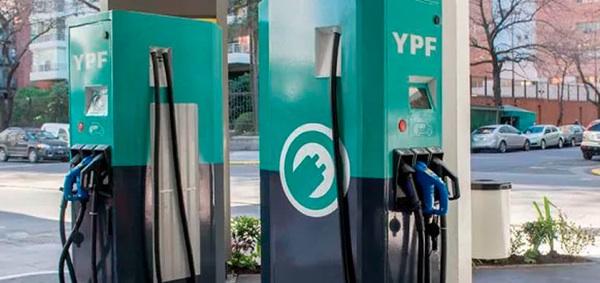 YPF: Se Instalaron Los Primeros Cargadores Para Autos Eléctricos En Estaciones De Servicio