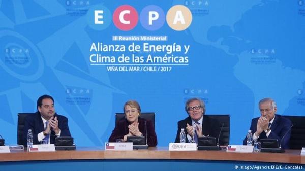 Bachelet Pide Coordinación Regional Para Potenciar Las Renovables