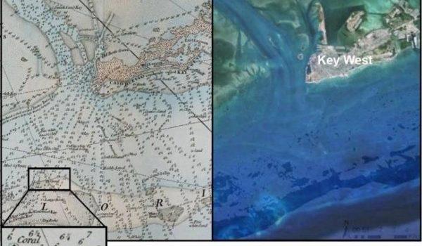 Cartas De Navegación Del Siglo XVIII Revelan La Pérdida Histórica De Corales