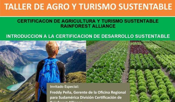 Taller De Agro Y Turismo Sustentable