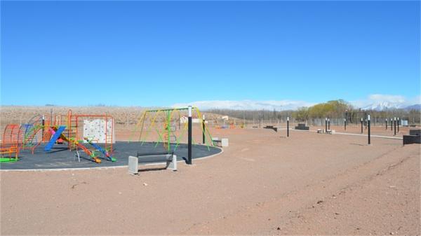 Transformaron Una Mina De Uranio En Una Plaza En Mendoza