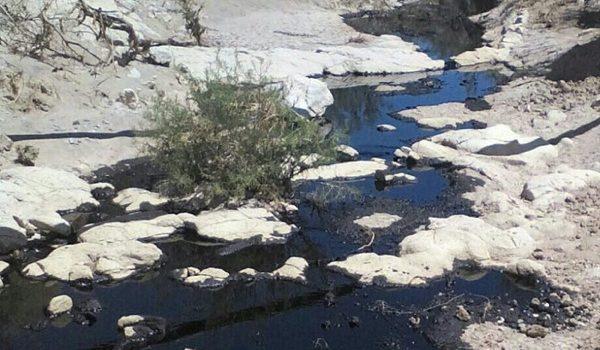 Erosión Eólica En Suelos Afectados Por Derrames De Petróleo