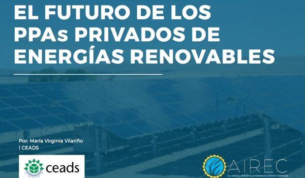 AIREC: El Futuro De Los PPAs Privados De Energía Renovables