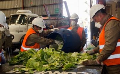 Avances Para Reducir Los Residuos Del Mercado Central De Buenos Aires