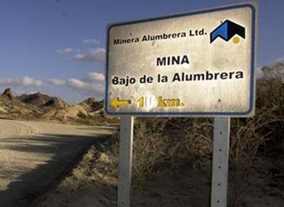 Minera Alumbrera: Procesamiento Del CEO Por Contaminación Ambiental