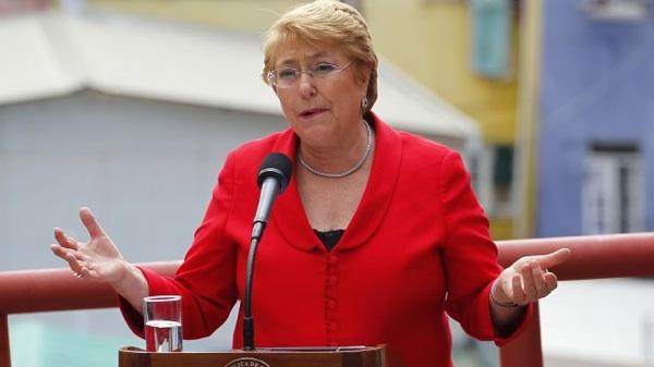 Presidenta Bachelet Fue Condecorada Como Campeona De La Tierra Por La ONU