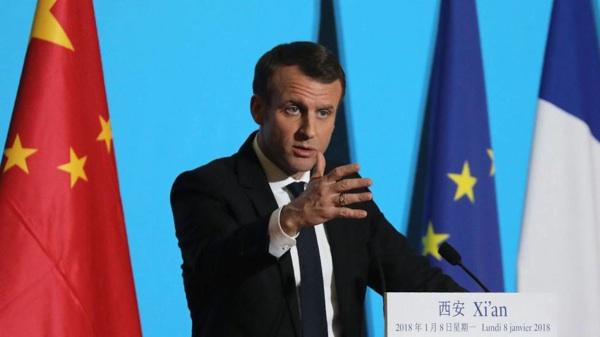 Macron Intenta Estrechar Las Relaciones Entre Europa Y China Para Reactivar La Lucha Contra El Cambio Climático