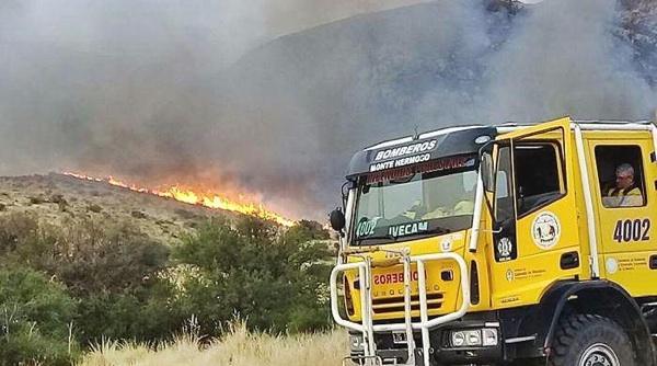 Sierra De La Ventana: El Incendio Está Extinguido