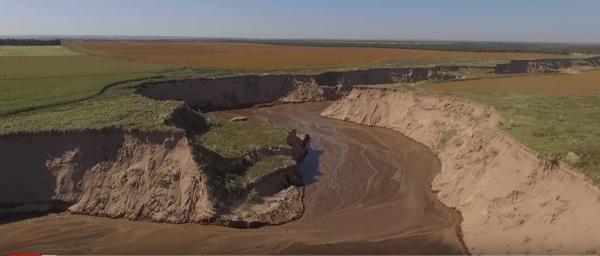 El Río Argentino Que Nació Por Culpa De La Deforestación Y El Cambio Climático