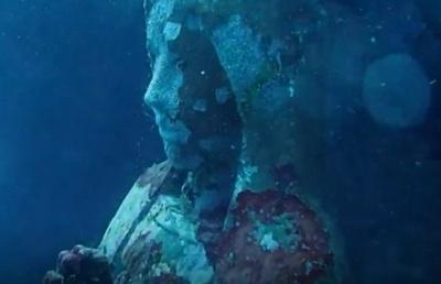 El Sorprendente Efecto De Una Estatua De La Virgen María Bajo El Mar Para Evitar La Pesca Con Dinamita