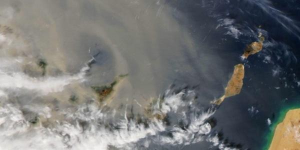 El Polvo Del Sahara Y Su Contaminación Llegan También A Cuba