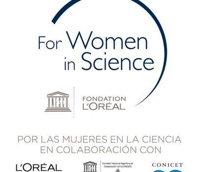 Se Abre La Convocatoria Para El Premio L'Oréal-UNESCO En Colaboración Con El CONICET