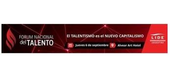 El Jueves 6 De Septiembre, LIDE Argentina Organiza El Fórum Nacional Del Talento