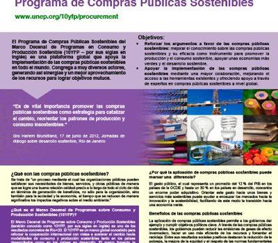 Programa De Compras Públicas Sostenibles