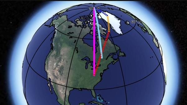 El Deshielo De Groenlandia Está Desplazando El Eje De Rotación De La Tierra