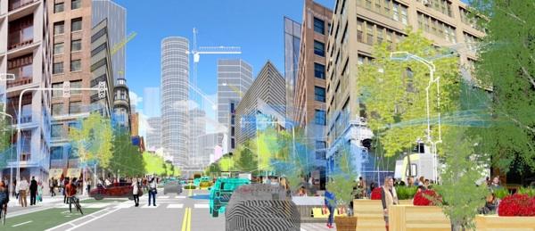 Ford, Uber Y Lyft Se Asocian Con La Plataforma Shared Streets Para La Contribución De Datos De Movilidad Urbana