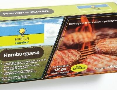 Carrefour Presentó Hamburguesas Del Pastizal