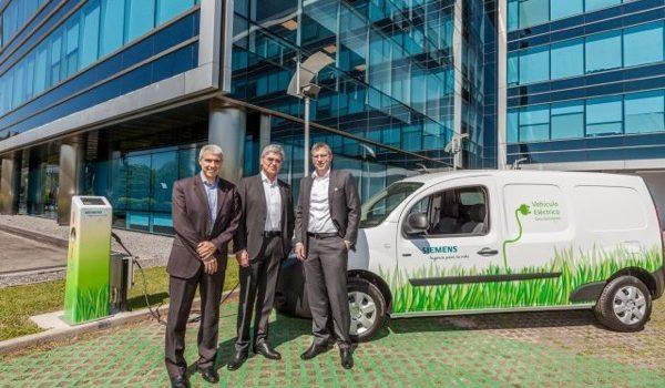 Siemens Argentina Inaugura Estación De Carga Para Vehículos Eléctricos Y Avanza En Su Compromiso Hacia La Reducción De Emisiones De CO2