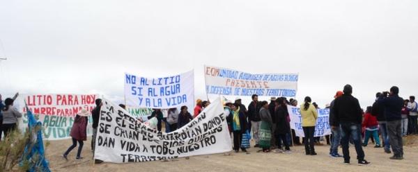 Veinte Comunidades Originarias Exigen Que Se Detenga La Explotación De Litio Y La Minería En Jujuy