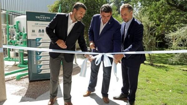 La Bodega Mendocina Trivento Inauguró Un Sistema De Limpieza Sustentable
