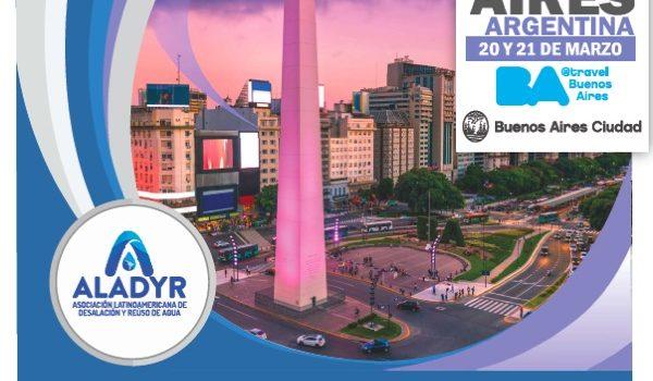 Seminario ALADYR – Argentina Recibirá A Los Líderes De La Industria Del Agua