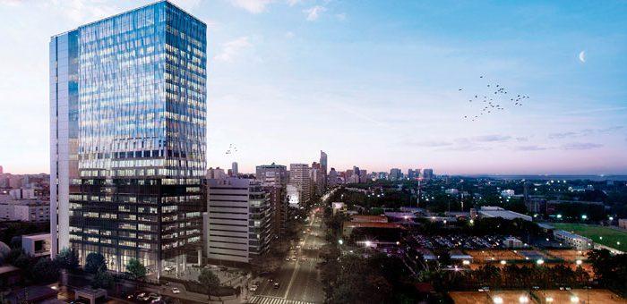 RAGHSA: Un Edificio Sustentable Crece En El Nuevo Polo De Oficinas De La Ciudad