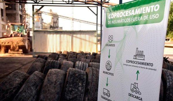 Geocycle: Mendoza Es La Primera Provincia En Tratar El 100% De Los Neumáticos Fuera De Uso