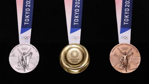 Las Medallas Olímpicas De Tokio 2020, Hechas Con Materiales Reciclados